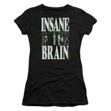 Cypress Hill Insane In The Brain Junior Women's Sheer T-Shirt Black