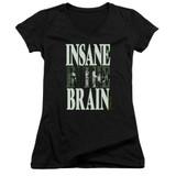 Cypress Hill Insane In The Brain Junior Women's V-Neck T-Shirt Black