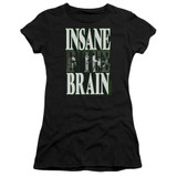 Cypress Hill Insane In The Brain Premium Junior Women's Sheer T-Shirt Black