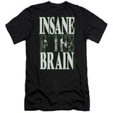 Cypress Hill Insane In The Brain Premium Adult 30/1 T-Shirt Black