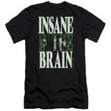 Cypress Hill Insane In The Brain Adult 30/1 T-Shirt Black