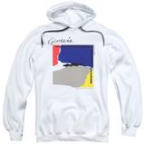 Genesis Abacab Adult Pullover Hoodie Sweatshirt White