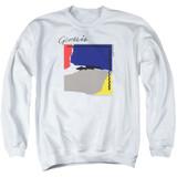 Genesis Abacab Adult Crewneck Sweatshirt White