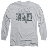 Genesis The Lamb Down On Broadway Adut Long Sleeve T-Shirt Silver