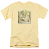 Genesis Selling England Adult 18/1 T-Shirt Yellow