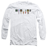 Genesis New Logo Adut Long Sleeve T-Shirt White