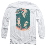 Genesis Land Of Confusion Adut Long Sleeve T-Shirt White