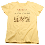 Genesis Trick Of The Tail Women's T-Shirt Yellow