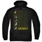 Genesis The Carpet Crawlers Adult Pullover Hoodie Sweatshirt Black