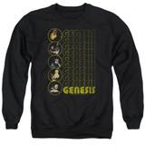 Genesis The Carpet Crawlers Adult Crewneck Sweatshirt Black