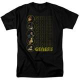 Genesis The Carpet Crawlers Adult 18/1 T-Shirt Black