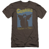 Genesis Watcher Of The Skies Premium Adult 30/1 T-Shirt Charcoal
