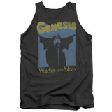 Genesis Watcher Of The Skies Adult Tank Top T-Shirt Charcoal