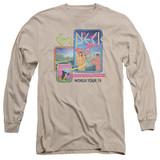 Genesis World Tour '78 Adut Long Sleeve T-Shirt Sand