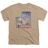 Genesis World Tour '78 Youth T-Shirt Sand