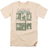 Genesis The Lamb Adult 18/1 T-Shirt Cream