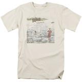 Genesis Foxtrot Adult 18/1 T-Shirt Cream