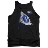 The Vamps Flag Adult Tank Top Black