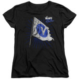 The Vamps Flag S/S Women's T-Shirt Black