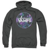 The Vamps Floral Vamps Adult Pullover Hoodie Sweatshirt Charcoal