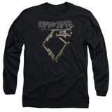 Twisted Sister Bone Logo Long Sleeve Adult 18/1 T-Shirt Black