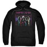 Twisted Sister Neon Gate Adult Pullover Hoodie Sweatshirt Black