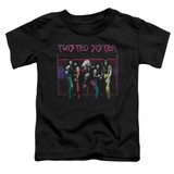 Twisted Sister Neon Gate S/S Toddler T-Shirt Black