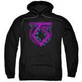 Twisted Sister Symbol Adult Pullover Hoodie Sweatshirt Black