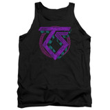 Twisted Sister Symbol Adult Tank Top Black