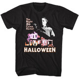 Halloween Mike En Haus Black Adult T-Shirt