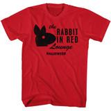 Halloween Rabbit Red Adult T-Shirt
