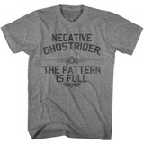 Top Gun Negative Ghostrider Graphite Heather Adult T-Shirt