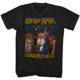 Twisted Sister Stay Hungry Tour Black Adult T-Shirt