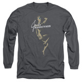 Jane's Addiction Inside Escape Long Sleeve Adult T-Shirt Charcoal