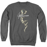 Jane's Addiction Inside Escape Adult Crewneck Sweatshirt Charcoal