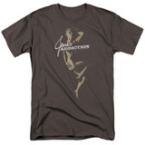 Jane's Addiction Inside Escape Adult 18/1 T-Shirt Charcoal