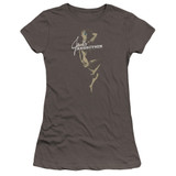 Jane's Addiction Inside Escape Premium Junior Women's Sheer T-Shirt Charcoal