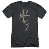 Jane's Addiction Inside Escape Adult 30/1 T-Shirt Charcoal