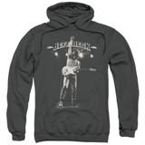 Jeff Beck Guitar God Adult Pullover Hoodie Sweatshirt Charcoal