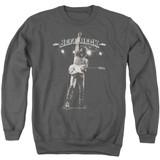 Jeff Beck Guitar God Adult Crewneck Sweatshirt Charcoal