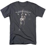 Jeff Beck Guitar God Adult 18/1 T-Shirt Charcoal
