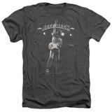 Jeff Beck Guitar God Adult Heather T-Shirt Charcoal