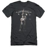 Jeff Beck Guitar God Adult 30/1 T-Shirt Charcoal