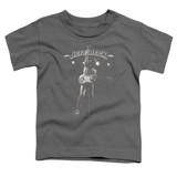Jeff Beck Guitar God Toddler T-Shirt Charcoal