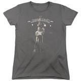 Jeff Beck Guitar God Women's T-Shirt Charcoal