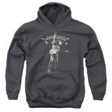 Jeff Beck Guitar God Youth Pullover Hoodie Sweatshirt Charcoal