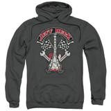 Jeff Beck Beckabilly Guitar Adult Pullover Hoodie Sweatshirt Charcoal