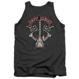 Jeff Beck Beckabilly Guitar Adult Tank Top T-Shirt Charcoal