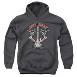 Jeff Beck Beckabilly Guitar Youth Pullover Hoodie Sweatshirt Charcoal