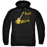 Jeff Beck That Yellow Guitar Adult Pullover Hoodie Sweatshirt Black